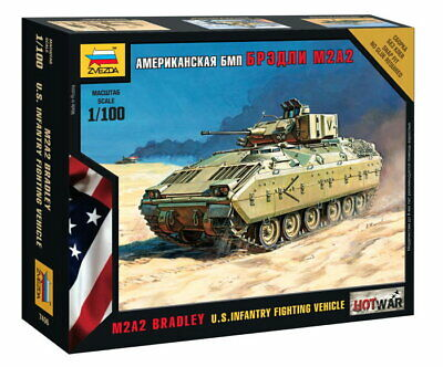 AU16.50 • Buy Zvezda 1/100 US M2A2 Bradley Infantry Fighting Vehicle