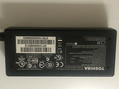 Toshiba AC/DC Adapter N17908 V85 R33030 Battery Charger Cord / Power Supply • 10£