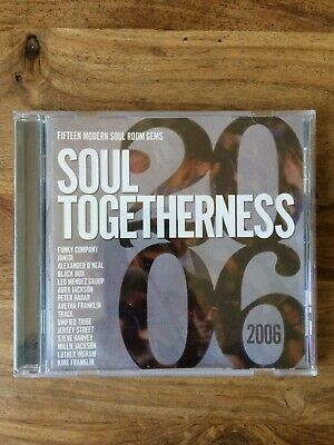 Soul Togetherness 2006  - Various Artists (CD 2006) Expansion Records • 10£