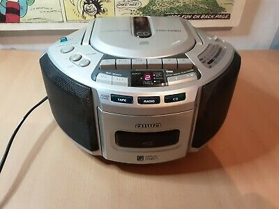 Vintage Aiwa - CD Cassette Radio Player. Fully Working With Lead. See Pics • 29.99£