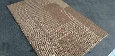 20x Interface Brown CARPET TILEs  Top Condition Delivery And Quantity Available • 20£