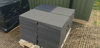 20x INTERFACE CARPET TILE Brown Large Stock Good Condition Delivery Available  • 18£