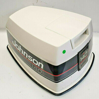 AU595 • Buy Evinrude Johnson Cowling Cowl Lid Cover Outboard Engine Cowl 120 140 Hp V4