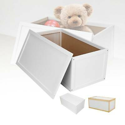 Wooden Toy Box Storage Unit Childrens Kids Chest Toyboxes Strong Toybox Uk  • 26.99£