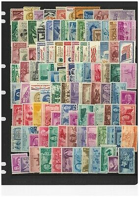 AU25 • Buy USA Selection Of 100 Different Commemorative Stamps In Glassine Bag All Mint