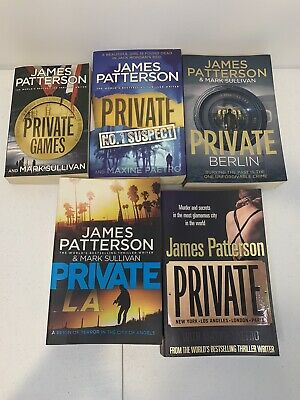 AU40 • Buy James Patterson Private Mix Books