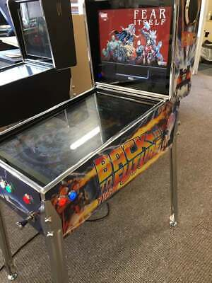 Themed  27  Deluxe Virtual Pinball Machine + Bally Legs + Shooter Options • 1,358£