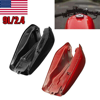 $118.29 • Buy 9L/2.4 Gallon Motorcycle Cafe Racer Vintage Fuel Gas Tank & Tap Fit For Honda