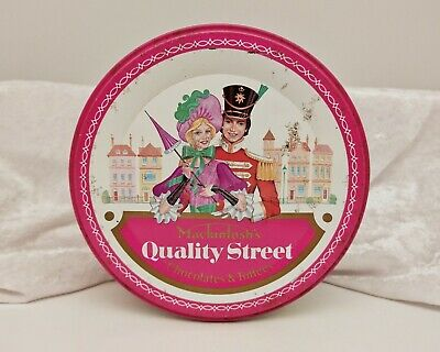 Vintage Advertising Confectionery/Sweet Tin-Quality Street-1989 • 11.99£