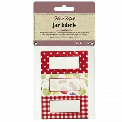Kitchen Craft Home Made Jam Jar Self-Adhesive Labels - Orchard, 30 Pack • 4.49£