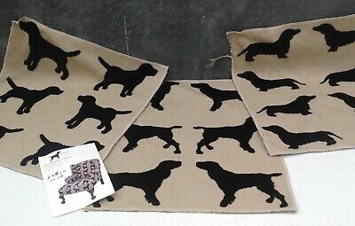 Spaniel Textured Fabric Sample Suitable For A Cushion Front The Labrador Co. • 8£