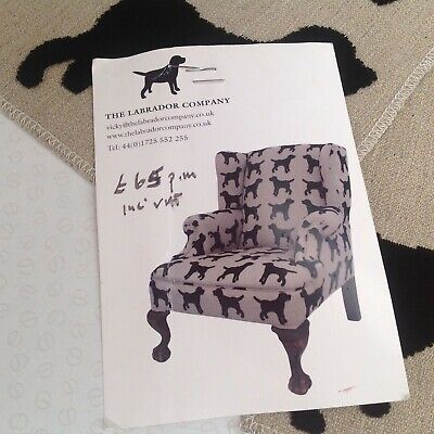 Dachshund Textured Fabric Sample Suitable For A Cushion Front The Labrador Co. • 8£
