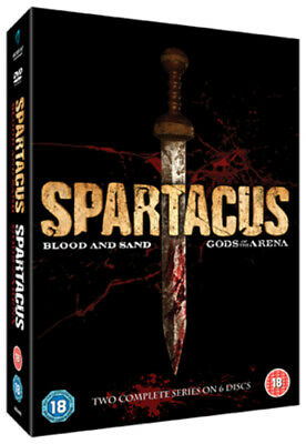 Spartacus - Blood And Sand: Series 1/Spartacus - Gods Of ... DVD (2011) Andy • 4.59£