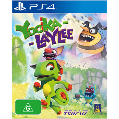 AU28 • Buy Yooka-Laylee Preowned - PlayStation 4 - PREOWNED
