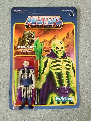 $29.99 • Buy Reaction Masters Of The Universe 3.75'' SCARE GLOW (GITD) MOTU Super 7 New