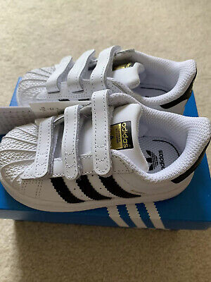 AU45 • Buy Adidas Originals Superstar Toddler Shoes UK6 New With Tags