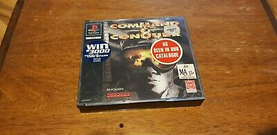 AU20 • Buy COMMAND AND CONQUER PS1 PlayStation 1995 2 Disk Rare 👌