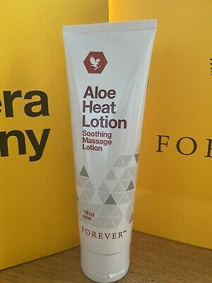£29 • Buy 2 X FOREVER LIVING BRAND New Original Aloe Heat  Soothing Massage Lotion 118/ml