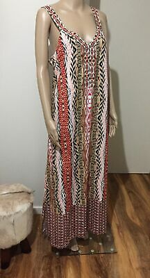 AU25 • Buy Trenery Country Road Maxi Dress 16 Multi Color