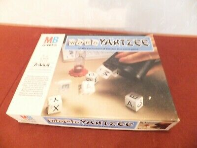 MB Games Word Yahtzee   100% Complete With Instructions  • 6£
