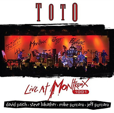 £12.54 • Buy Toto-Live At Montreux / 1991 CD NEW