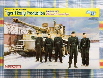 Dragon 1/35 Tiger I Early Wittmann Car W / Figure Super Rare From Japan • 142.57£