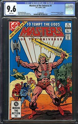 $2.25 • Buy Masters Of The Universe #1 CGC 9.6 NM+ 1st FULL HE-MAN COMIC George Tuska Cover