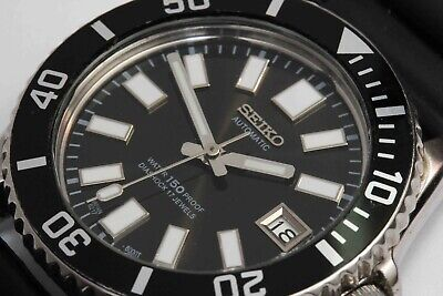 $ CDN215.20 • Buy Vintage SEIKO DIVERS AUTOMATIC Wristwatch - Screw Down Crown & Ratcheting Bezel