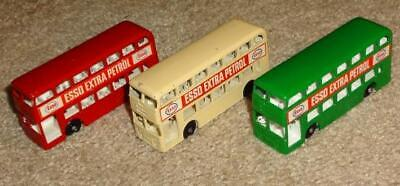 $ CDN46.93 • Buy VINTAGE LESNEY MATCHBOX ESSO DAIMLER DOUBLE DECKER BUSES, GREEN, RED,WHITE No 74