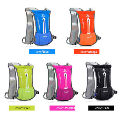 AU28.49 • Buy 2020 Sports Backpack Hydration Pack 2L Water Bladder Bag Cycling Running Vest