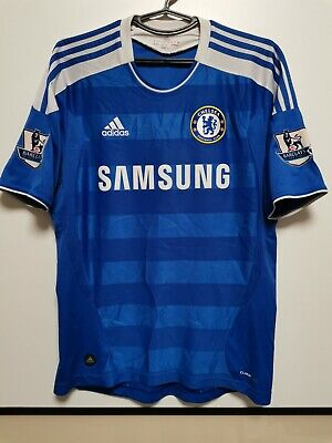 Size M Chelsea 2011-2012 Home Football Shirt Jersey • 65£