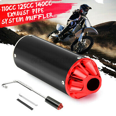 £29.64 • Buy Performance CNC Exhaust Pipe System Muffler For 110cc 125cc 140cc Pit Dirt Bike