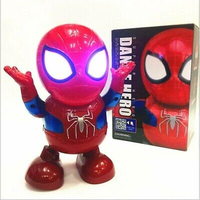 AU20.98 • Buy Toys For Boys LED Robot Dance Spiderman 2 3 4 5 6 7 8 9 Year Age Old Gifts AU