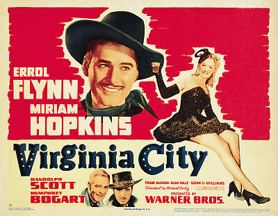 Virginia City 1940 Western Errol Flynn Dvd • 3.50£