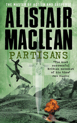 Partisans By Alistair MacLean (Paperback / Softback) FREE Shipping, Save £s • 1.86£