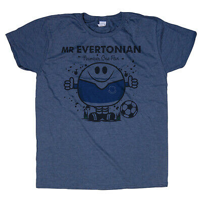 Mr EVERTONIAN T-SHIRT. Present Idea For EVERTON Fan Football  • 9.95£