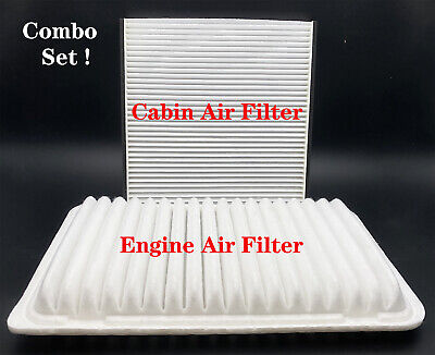 $12.59 • Buy Engine & Cabin Air Filter Combo Set For Toyota Sienna Camry Lexus RX350 ES330