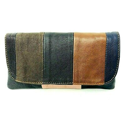 Soft Genuine Smoke Tobacco Pocket Pouch Case Real Leather Lining Slot For Rizla • 8.99£