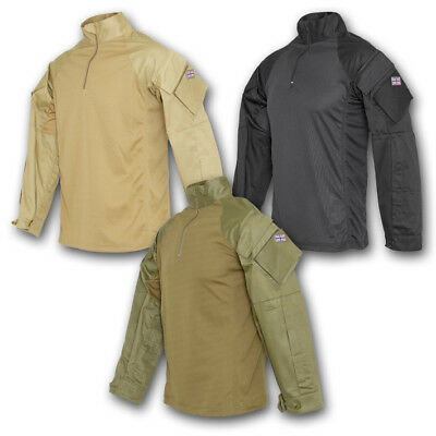 British Army Style Pcs Ubacs Shirt Olive Green Black Coyote Military Security • 24.95£