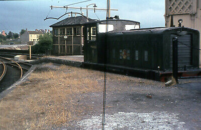 Railway Slide  BR Ruston & Hornsby Diesel Electric Shunter PWM652  Keynsham 1964 • 1.99£
