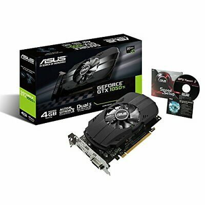 $ CDN265.44 • Buy ASUS NVIDIA GeForce GTX1050TI Equipped With Video Card Overclocking Memory 4GB P