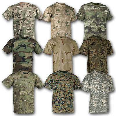£8.95 • Buy Helikon Tex Classic Army T Shirt British Us Army Cotton Military Camouflage
