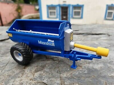Britains Conversion New Holland Blue Marshall Spreader New Wheels. For Tractor • 40£
