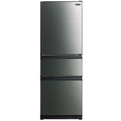 AU1250 • Buy Mitsubishi Electric MRCX370EJBSTA2 370L 3 Door B/Mount Blk Stainless 5 Yr Wty