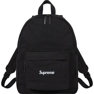 $ CDN214.52 • Buy Supreme Canvas Backpack Black ORDER CONFIRMED (FREE SHIPPING)