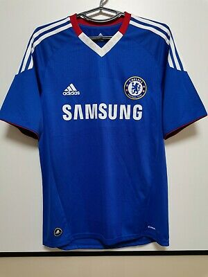 SIZE S CHELSEA 2010-2011 HOME Football Shirt Jersey • 40£
