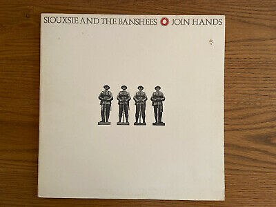 SIOUXSIE AND THE BANSHEES - Join Hands 12  VINYL LP RECORD VGC • 7£