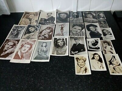 1940s 1950s Autographed And Printed Photos Usa Movie Stars • 10£