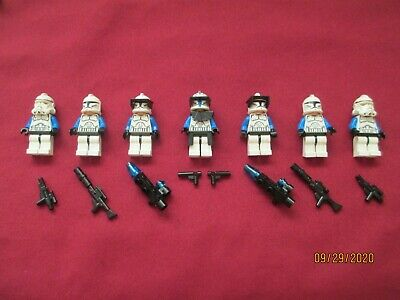 £100.19 • Buy LEGO Star Wars Minifigures LOT, Captain Rex & Clone Troopers & Weapons