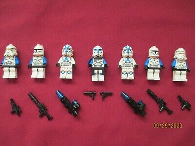 £200.41 • Buy LEGO Star Wars Minifigures LOT, Captain Rex & Clone Troopers & Weapons